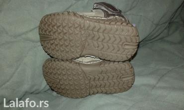 Sandalice za bebe decake br. 19; sa anatomskim uloskom, ocuvane kao - Smederevo