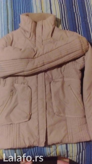 Svetlo siva jakna veličinam/l... Nošena 3-4 puta - Vrnjacka Banja