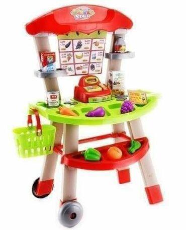 ~~ Mini market set- Mini market set sadrži u okviru postolja mini