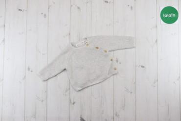Дитячий в'язаний реглан Zara Mini, вік 3-6 міс., зріст 68 см    Довжин