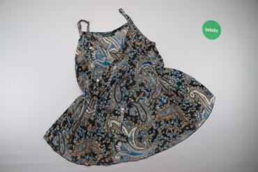 Рубашки и блузы - Размер: M - Киев: Жіноча блуза на бретелях з принтом R.Leezio, p. M    Довжина: 73 см  Н
