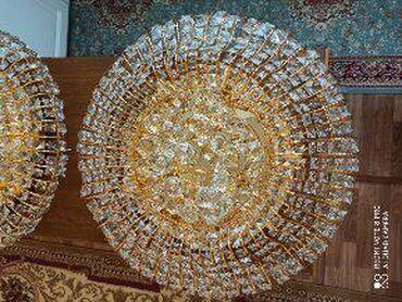 Декор для дома в Кыргызстан: Продаю люстры, в отличном состоянии