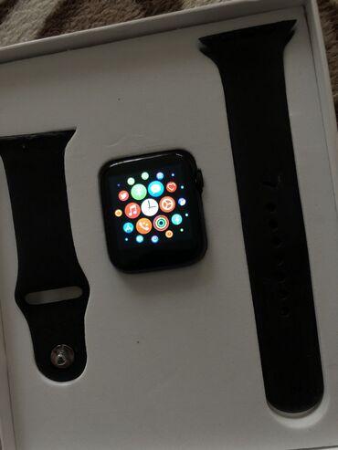 диски борбет а в Кыргызстан: Черные Унисекс Наручные часы Apple