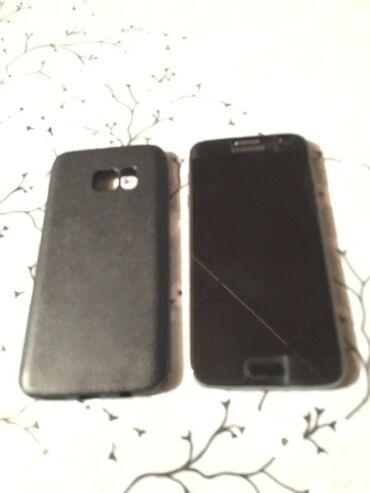 Samsung galaxy s7 duos - Азербайджан: Б/у Samsung Galaxy S7 32 ГБ Черный