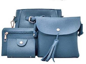 визитница в Кыргызстан: Набор сумка, кошелек, визитница- Синтетическая кожа - Регулируемый