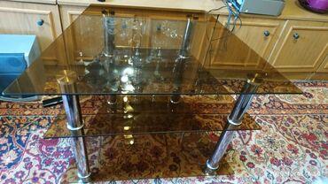 стеклянная колба для кофеварки bosch в Кыргызстан: Стеклянный стол. Состояние идеальное! Все вопросы по телефону