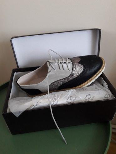 Nove zenske cipele oxfodice.velicina 40.nenosene.1500 dinara - Belgrade