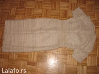 Haljina od sirove svile, šiven veličina s, dva puta obučena