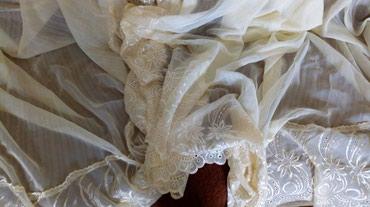 Nova krem zavesa,donji deo gde je vez ide - Kraljevo
