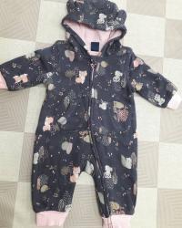 детская клетчатая рубашка в Кыргызстан: Комбинизоны на осень и весна Внутри хб подкладРазмер от 3 до 24
