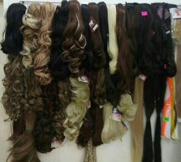 Искусственные хвосты для причёсок. Цена от 150сом до 1000сом. в Бишкек