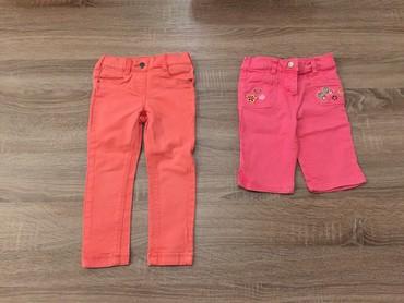 Tricetvrt pantalone - Srbija: C&A Palomino za devojcice br98 (2-3god) sa elastinom i gumom za