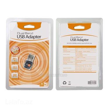 Bakı şəhərində 600 mb wifi adaptor satilir... Driver diski var.. Sadece usb-ni