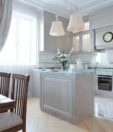Дизайн проект кухни в Бишкек
