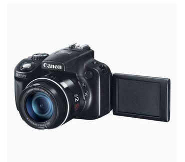 Canon SX50 HS fotoaparat satılır. Əla vəziyyətdə. Istifade olunmayıb