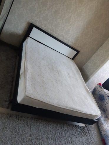 Продам кровать! Нижний Джал. Б/У. С матрацем. Цена окончательная в Бишкек