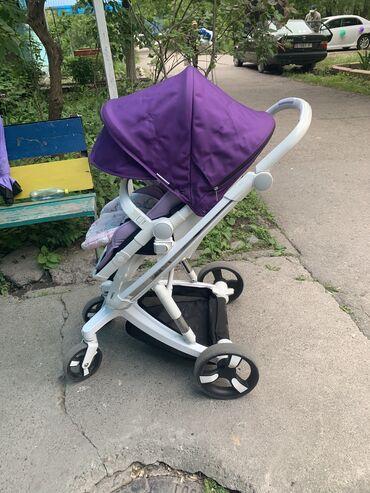 Коляски - Кыргызстан: Продаю умную коляску Baby lux.В отличном состоянии.Коляска оснащена