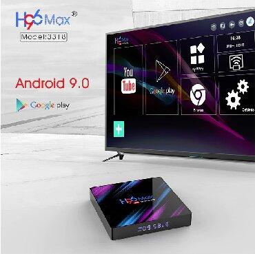 TV/video üçün aksesuarlar Bakıda: Smart TV Box H96Max Ultra + Gyro MausСмарт тв бокс - Istenilen
