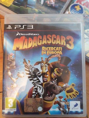 Bakı şəhərində PS3 Üçün Tam Original Oyun Diski Madagascar 3... Playstation