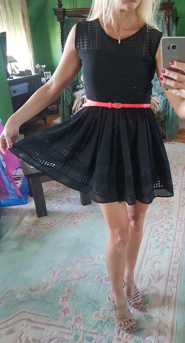 Preslatka mala crna haljinica.. nekako je pun krug pa lepo stoji. - Belgrade