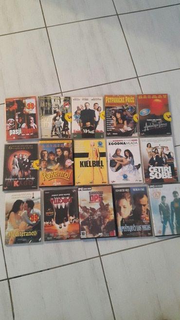 Knjige, časopisi, CD i DVD | Pozarevac: Filmovi 22kom. 2000din