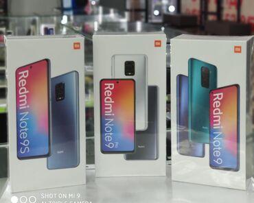 redmi-note-8-pro-бу в Кыргызстан: Новый Xiaomi Redmi Note 9 128 ГБ Черный