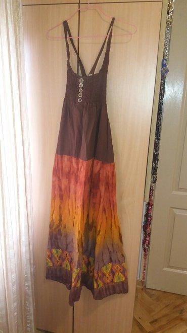 Prelepa duga pamučna haljina kupljena u Orient Emporium-u. Veličina - Kragujevac