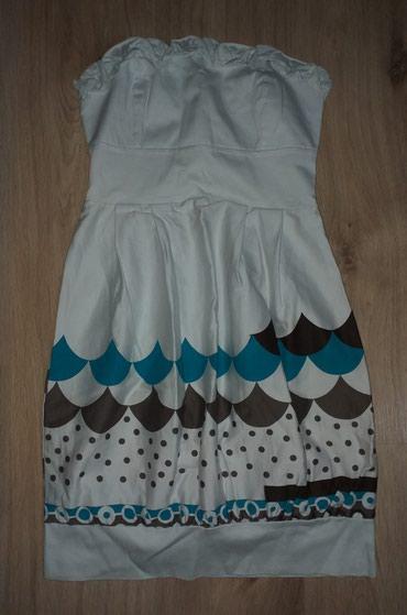 Haljina bolje stoji punijim osobama duzina materijal pa - Srbija: Top haljina jako kvalitetan pamučni materijal, dole balon gore