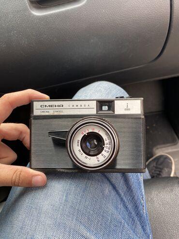 Fotoaparatlar - Bakı: Smena sembol antik fotoaparat işlək veziyetdedir orjinal sumkasi var