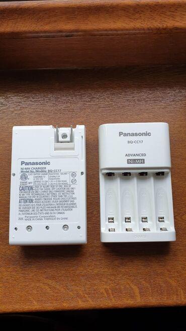 Зарядное устройство Panasonic Eneloop для аккумуляторов АА и ААА