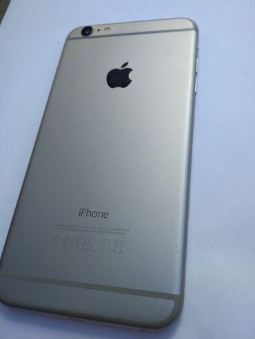 сколько стоит iphone 6 plus in Кыргызстан   APPLE IPHONE: IPhone 6 Plus   128 ГБ   Серебристый Б/У   Отпечаток пальца