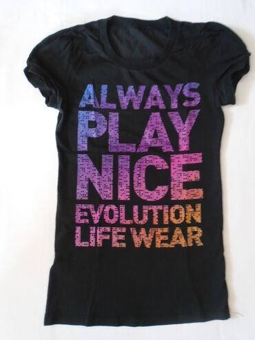 Lepa majica sa puf rukavićima Evolution od 100% pamuka. Odgovara S