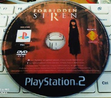 PS2 & PS1 (Sony PlayStation 2 & 1) Azərbaycanda: Forbidden Siren 1.Ps2 Üçün.Yenidir.Sayı Çoxdur