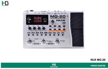 """Bakı şəhərində """"nux mg-20"""" gitara üçün pedal   gitara üçün fx pedal. Həm"""