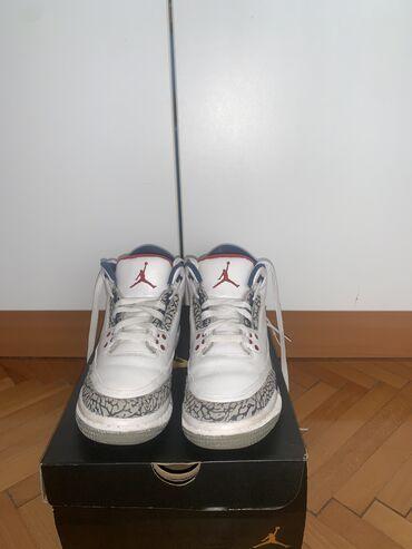 Muske nike patike - Srbija: Jordan RETRO patike(Air Jordan 3 True Blue)Original  Jordan Unisex pat