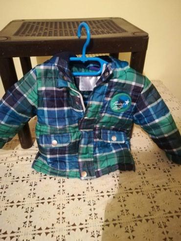 Decja jaknica, za dete do 2 god. Jakna je topla, postavljena, sa - Pancevo