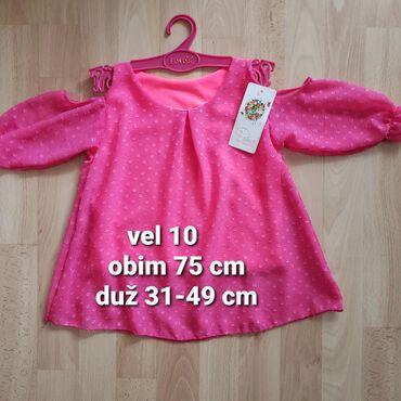 Elegantne majice tunike vel 6 i 10 god. Novo. Kupljeno u Italiji. Cena