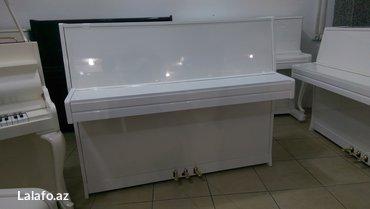 Bakı şəhərində Yeni pianodur, çatdırılma ve köklenme ile 5 il zemanet verilir.