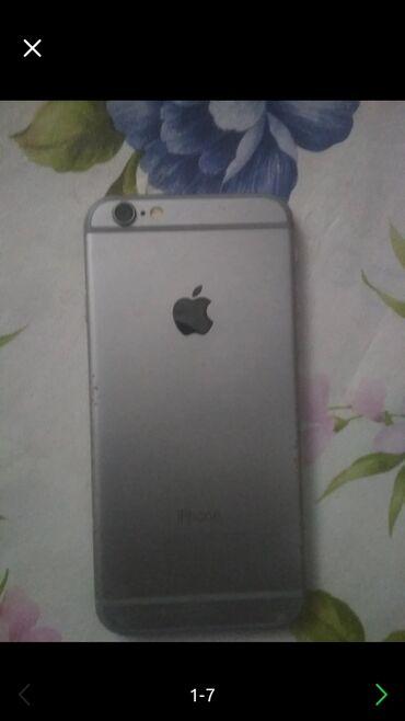 айфон 11 цена в бишкеке в Кыргызстан: Б/У iPhone 6s 64 ГБ Серебристый