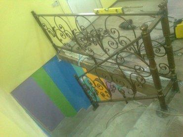 Каркас лестницы, перила на заказ по в Бишкек