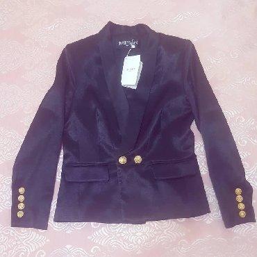 Жакет balmain - Кыргызстан: Новый пиджак balmain. в шикарном качестве. размер s. брала намного