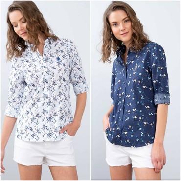 джинсовая жилетка женская в Кыргызстан: Шикарные женские рубашки от USPolo Assn по доступным ценам Оригинал