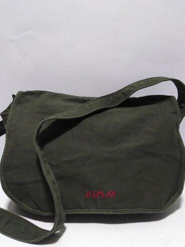 Replay - Srbija: REPLAY velika original torba izradjena od debljeg kvalitetnog