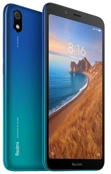 Мобильные телефоны - Бишкек: Новый Xiaomi Redmi 7A 32 ГБ Синий