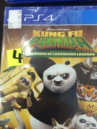 Bakı şəhərində Ps4 ucun kung fu panda oyunu bagli upokovkada orginal