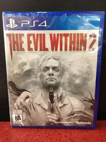 Ps4 üçün the evil within 2 oyunu. Sony PlayStation 4 oyunlarının və