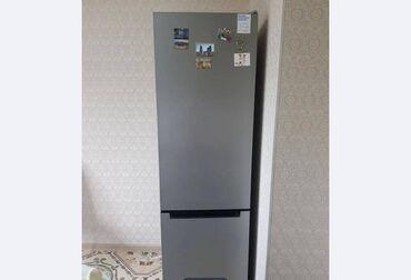 | Б/у Двухкамерный | Серебристый холодильник Indesit