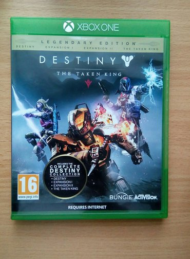 Destiny the taken king- legendary edition za xbox one, u odličnom - Beograd