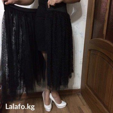 Платье новое,  размер м от mango.  Пачку в Бишкек