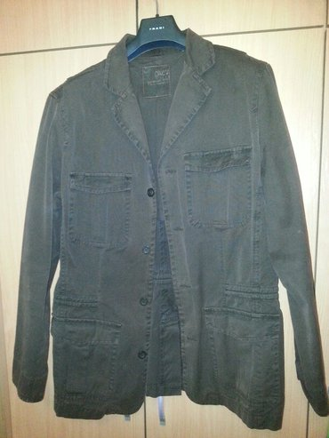 Muška jakna za visinu oko 185cm. Za proleće jesen, u odličnom stanju.  - Vrsac